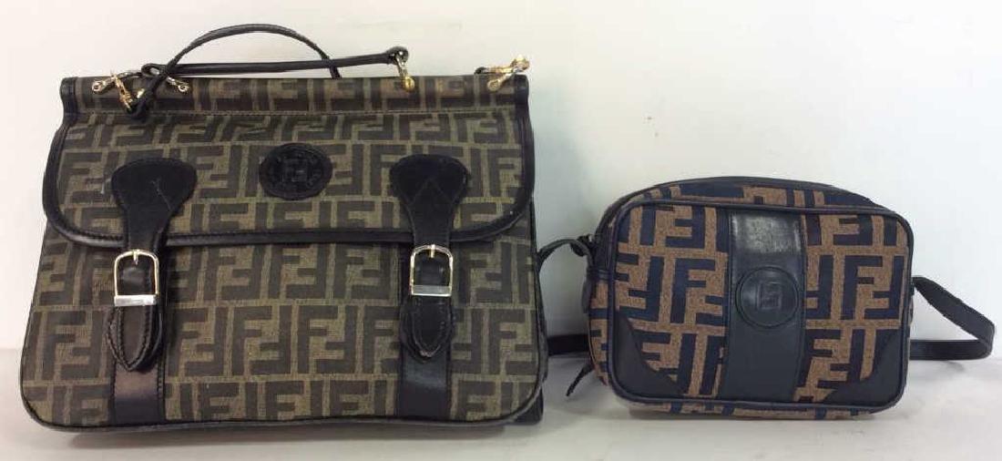 Lot 2 FENDI Handbags Purses