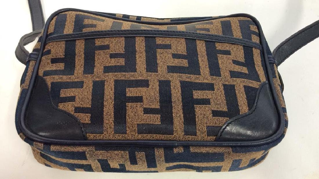 Lot 2 FENDI Handbags Purses - 6