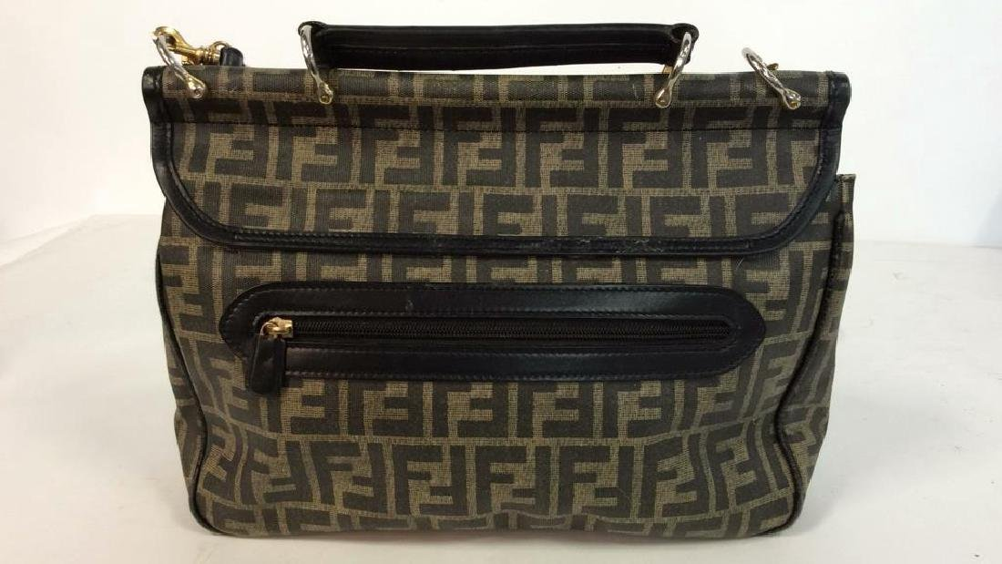 Lot 2 FENDI Handbags Purses - 7
