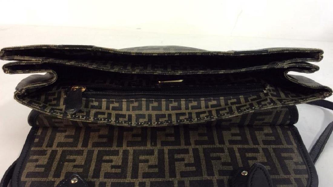 Lot 2 FENDI Handbags Purses - 9
