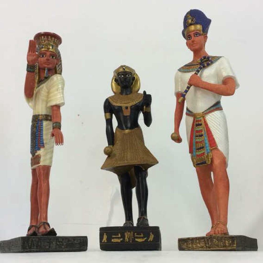 Lot 3 Assorted Egyptian Style Figures