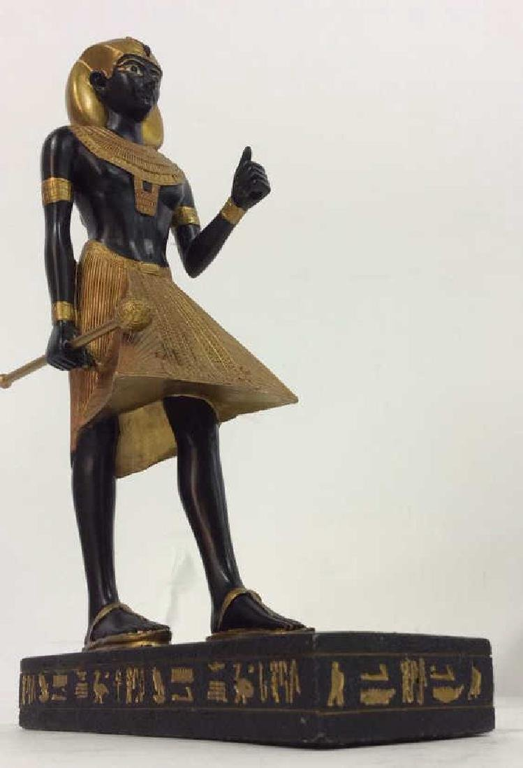 Lot 3 Assorted Egyptian Style Figures - 4
