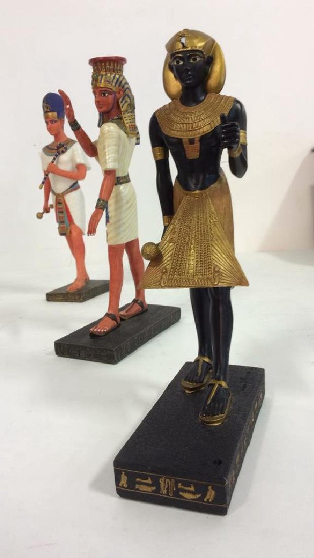 Lot 3 Assorted Egyptian Style Figures - 9