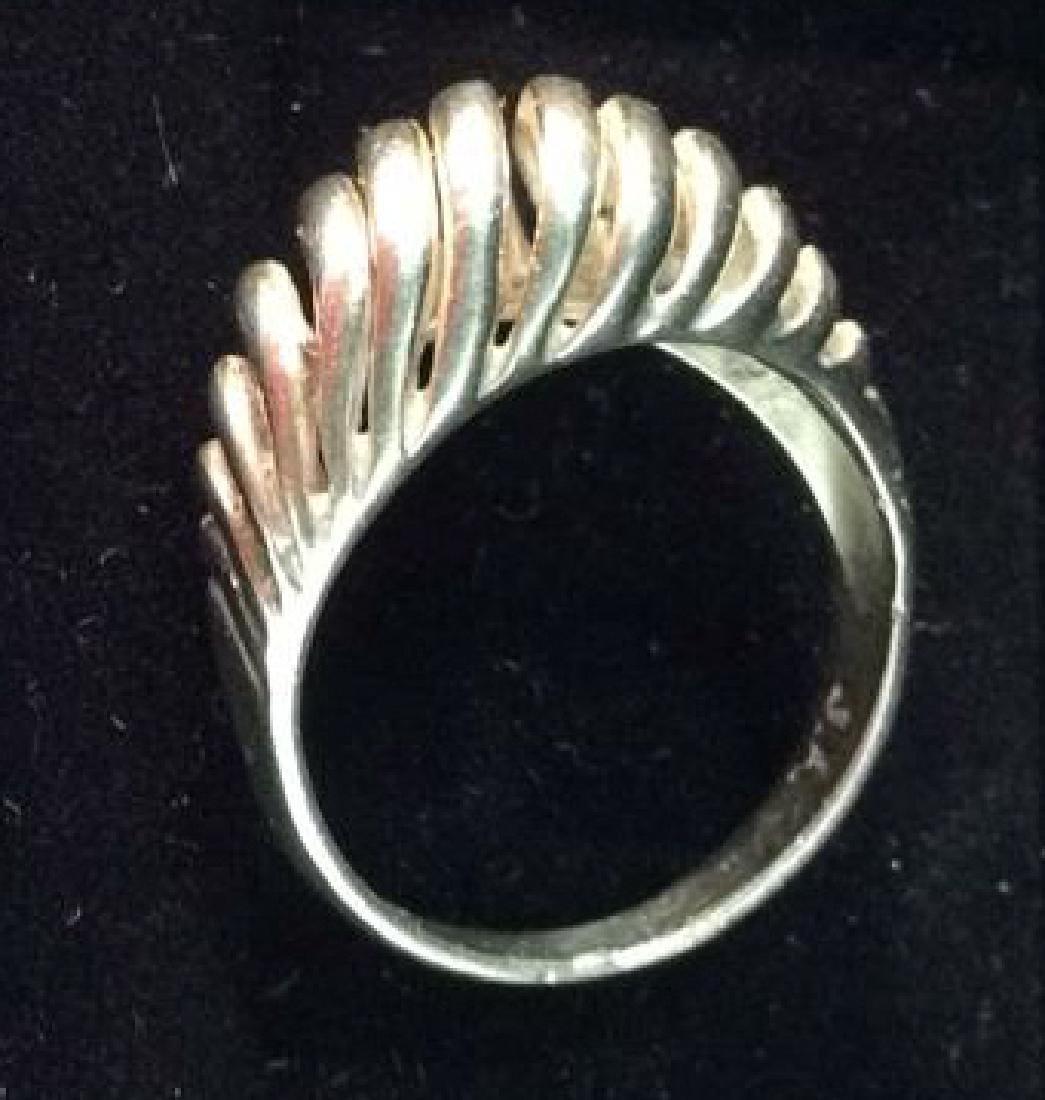 14 K White Gold Ring Jewelry