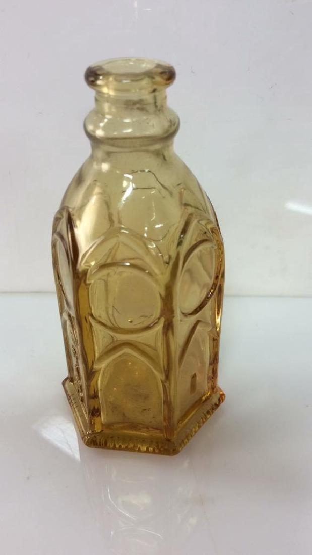 Lot 2 Vintage Glass Crystal  Bottles - 3