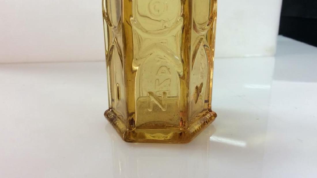 Lot 2 Vintage Glass Crystal  Bottles - 4