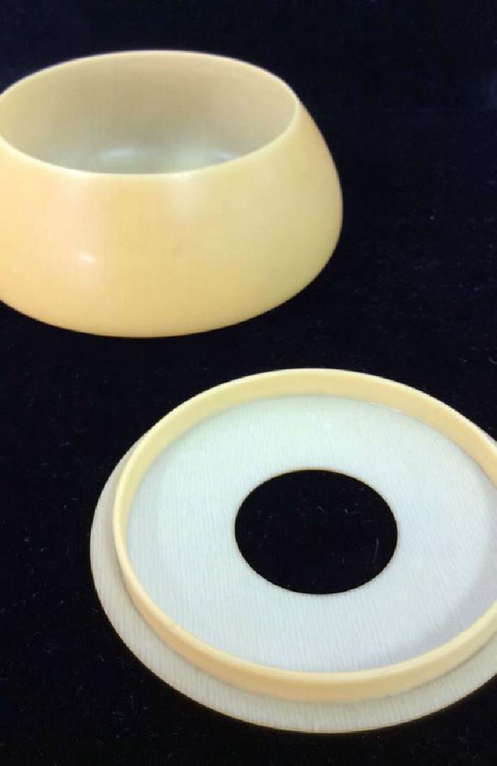 Vintage Possibly Antique Celluloid Hair Box - 4