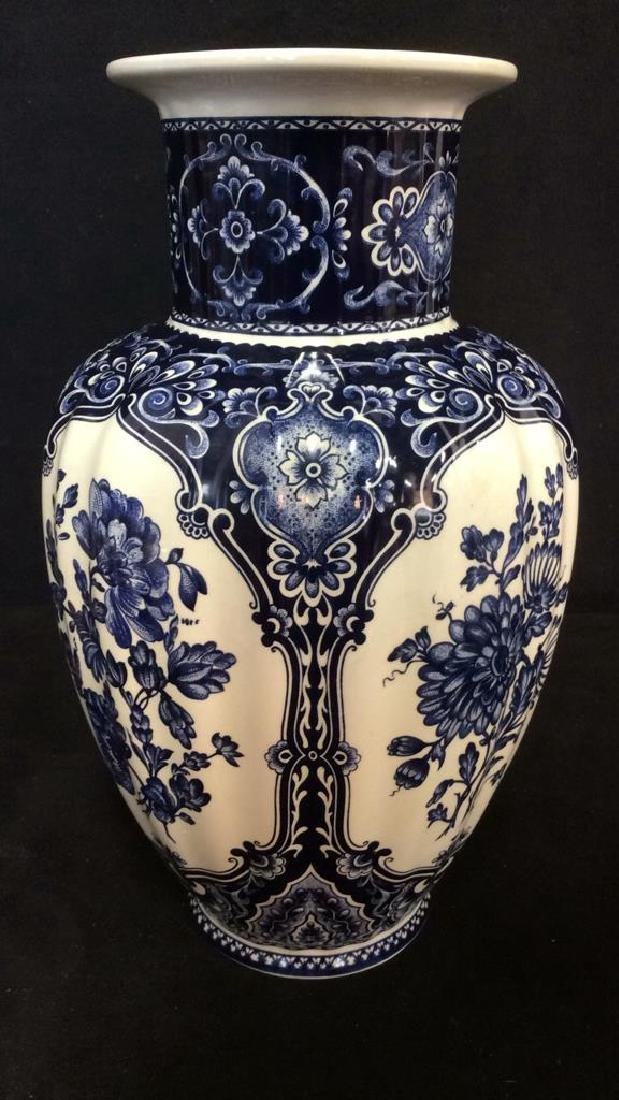 Ceramic Porcelain Floral Detailed Vase - 6