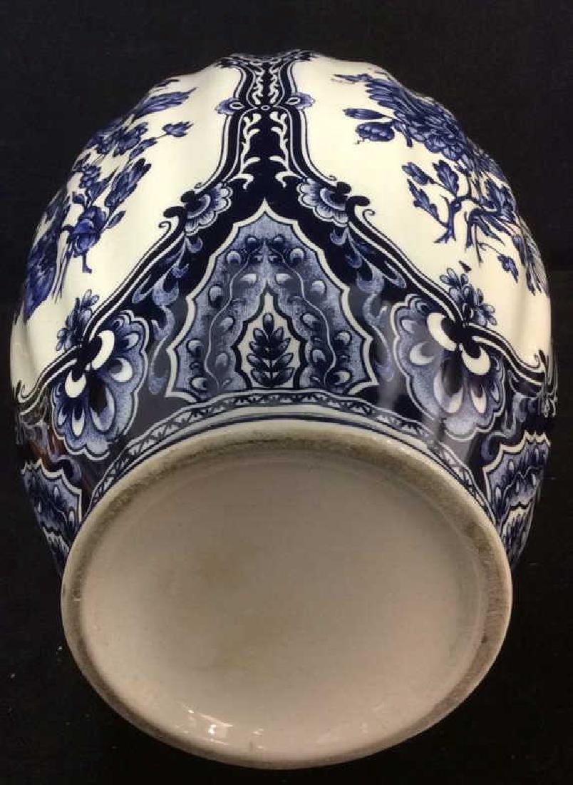 Ceramic Porcelain Floral Detailed Vase - 8