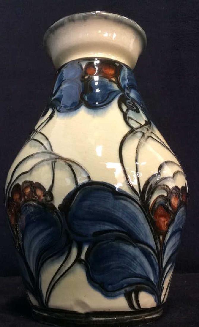 DANICO Hand Painted Ceramic Vase, Denmark