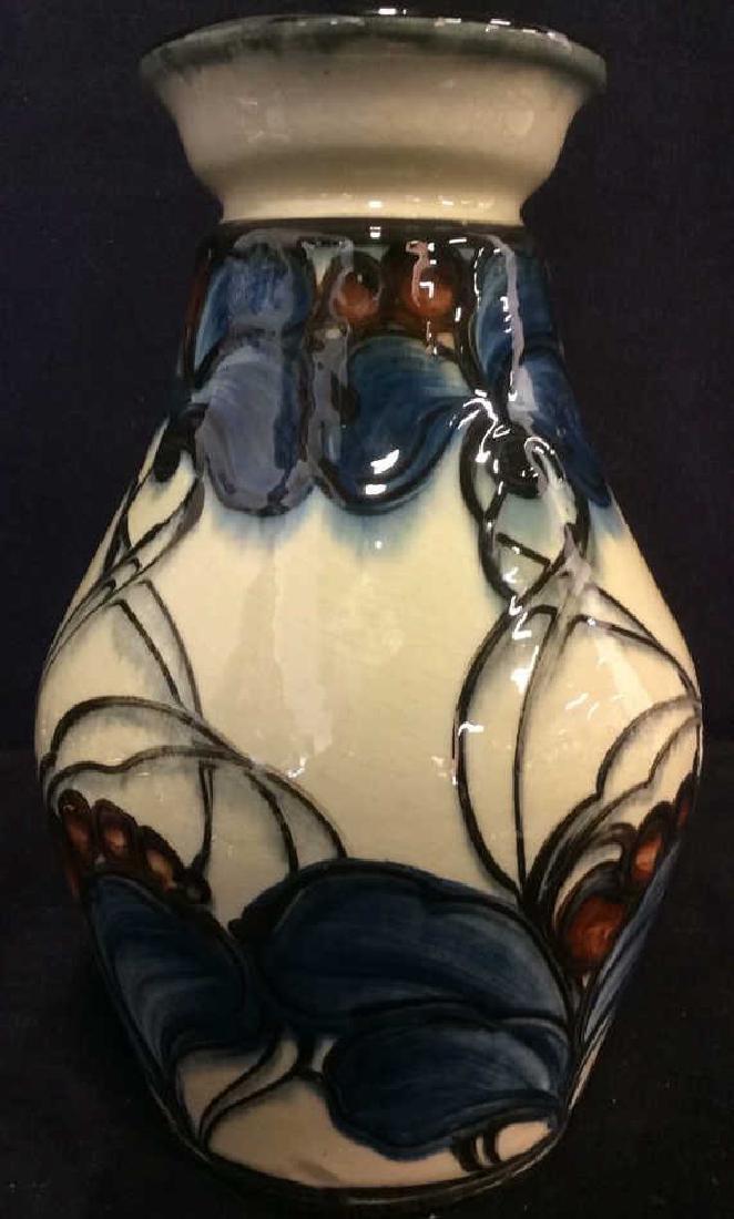 DANICO Hand Painted Ceramic Vase, Denmark - 2