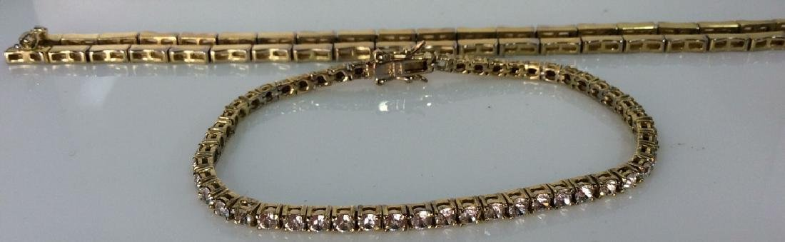 Lot 4 Assorted Gold Toned Women's Jewelry - 10