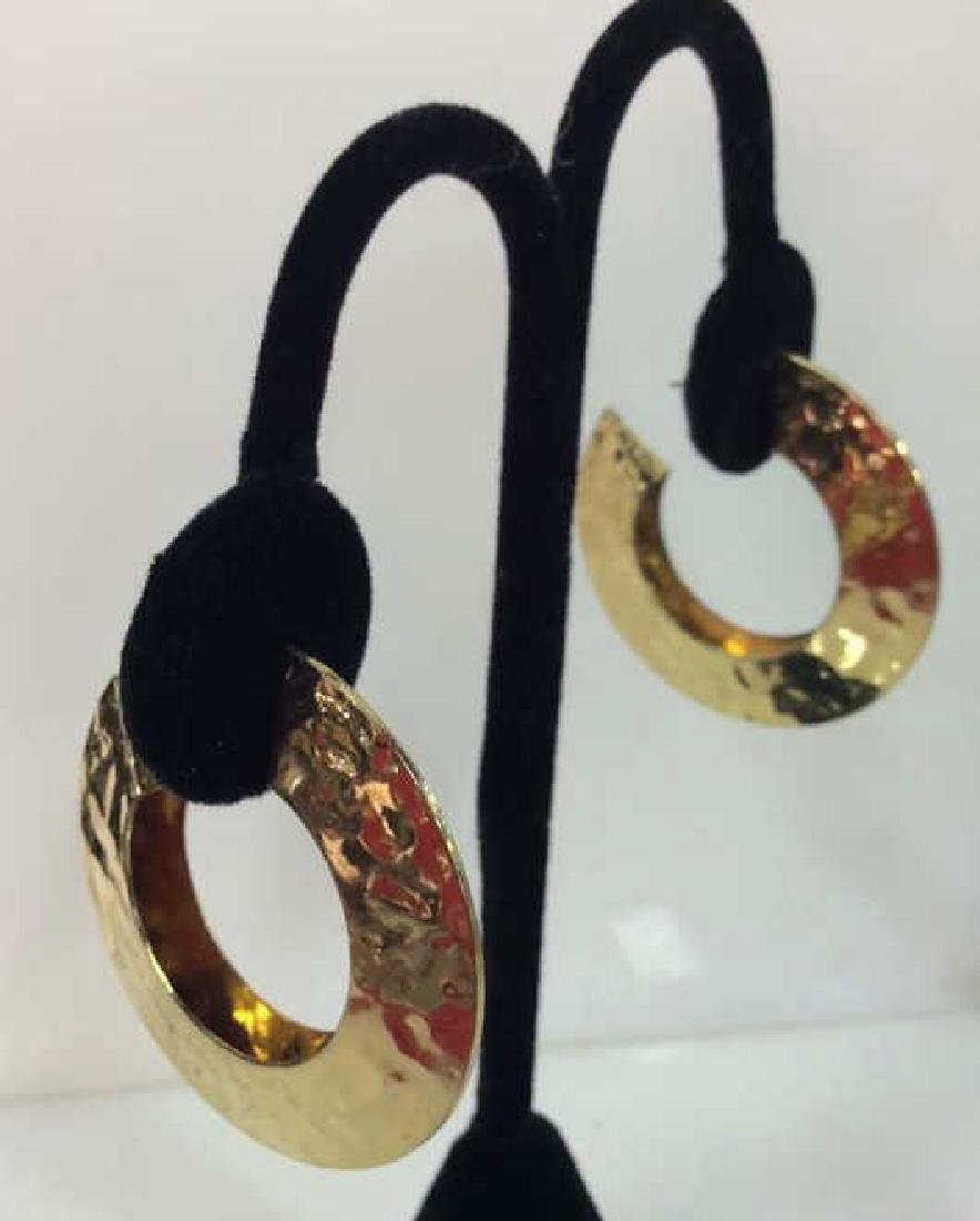 Lot 4 Assorted Gold Toned Women's Jewelry - 2