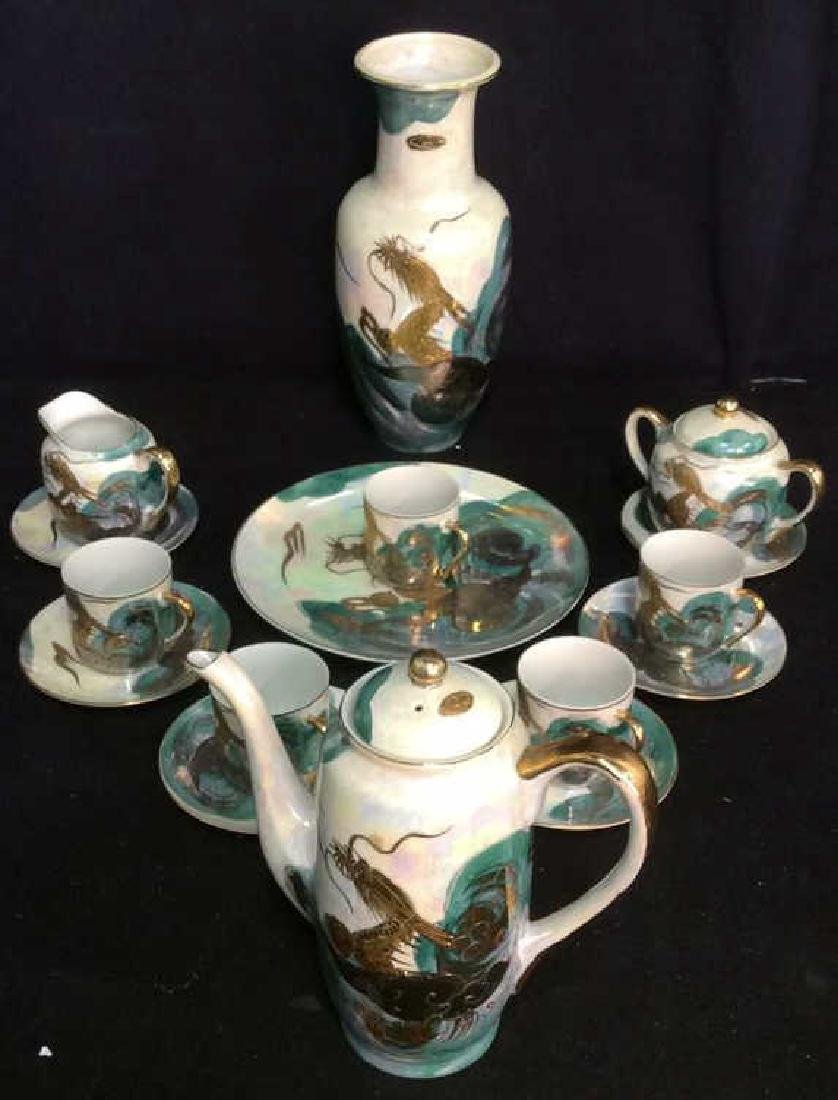 Lot 16 AITO CHINA Mother Of Pearl Tea Set