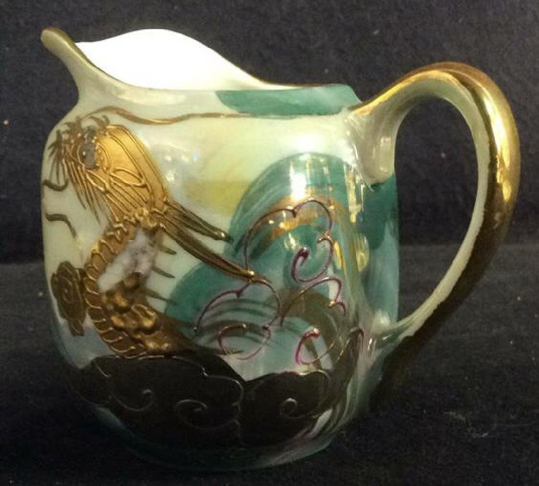 Lot 16 AITO CHINA Mother Of Pearl Tea Set - 6