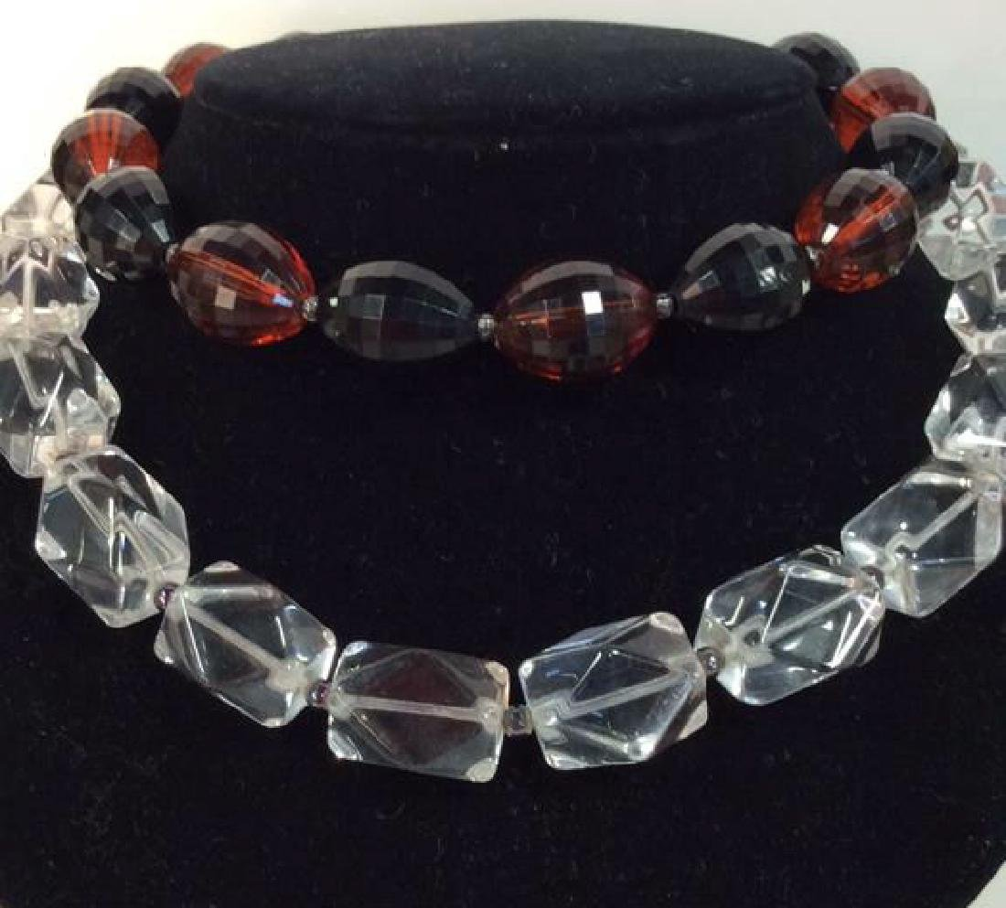Lot 2 Women's Costume Jewelry Necklaces