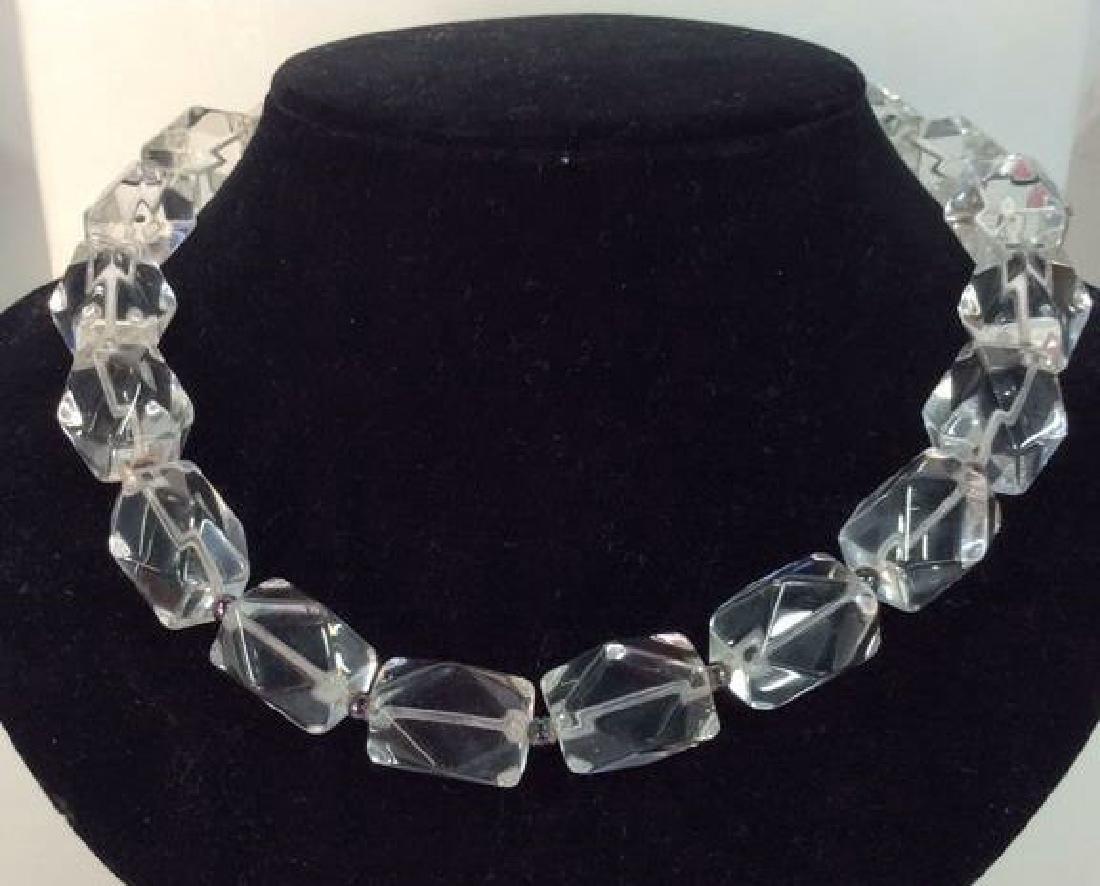 Lot 2 Women's Costume Jewelry Necklaces - 2