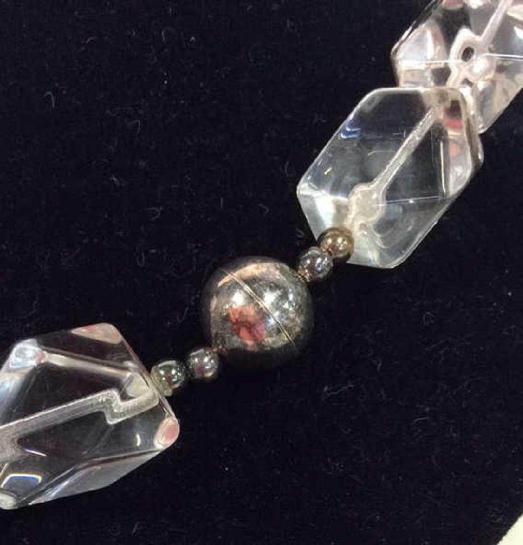 Lot 2 Women's Costume Jewelry Necklaces - 4