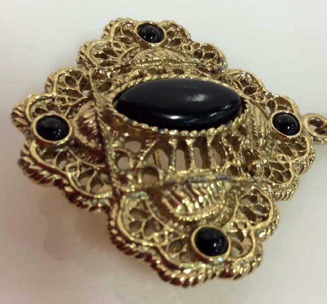 Women's Costume Jewelry Brooch Pin - 2