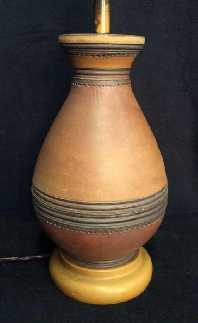 Italian Midcentury Bitossi Ceramic Lamp c1950s