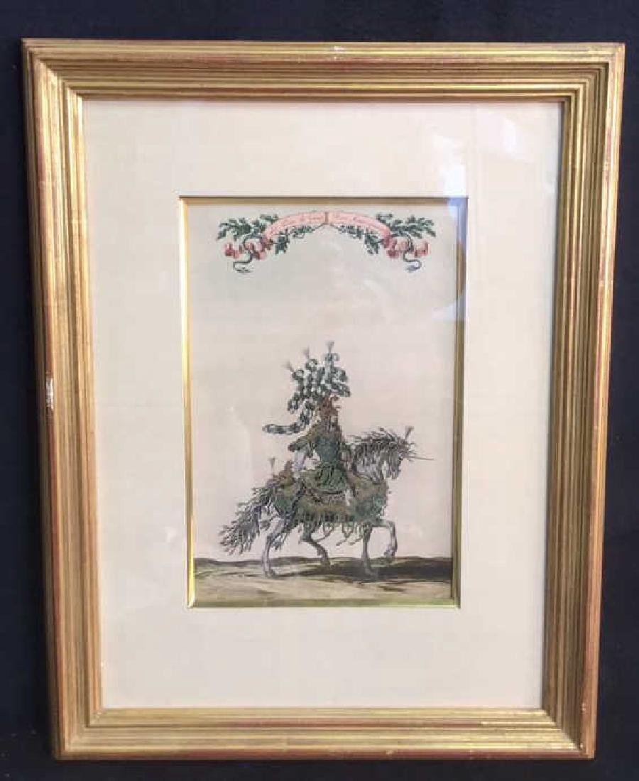 Print Of Henry II de Lorraine, Fifth Duke Of Guise