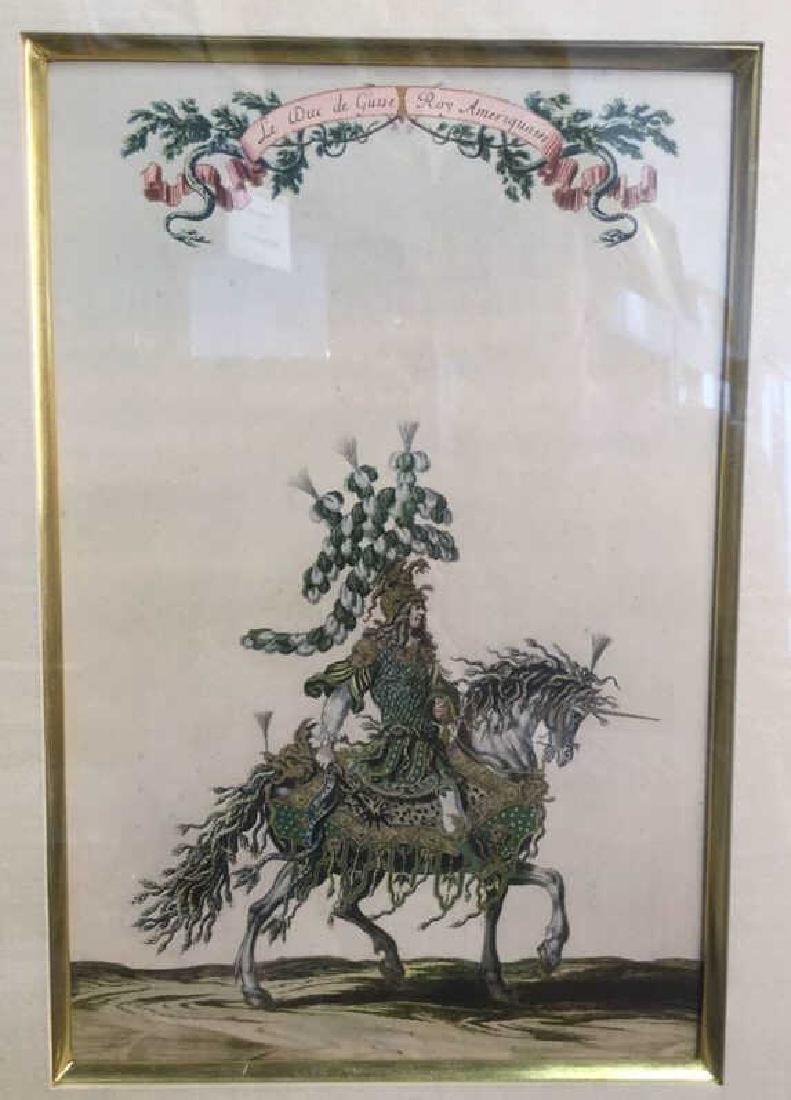 Print Of Henry II de Lorraine, Fifth Duke Of Guise - 2