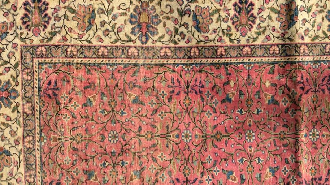 Oriental Antique Handmade Silk Carpet