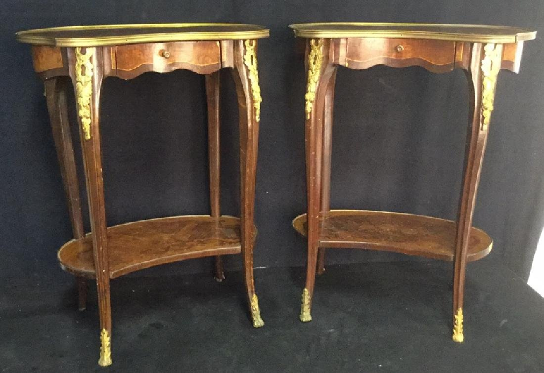 Pair Of French Louise XIV Style Occasional Tables