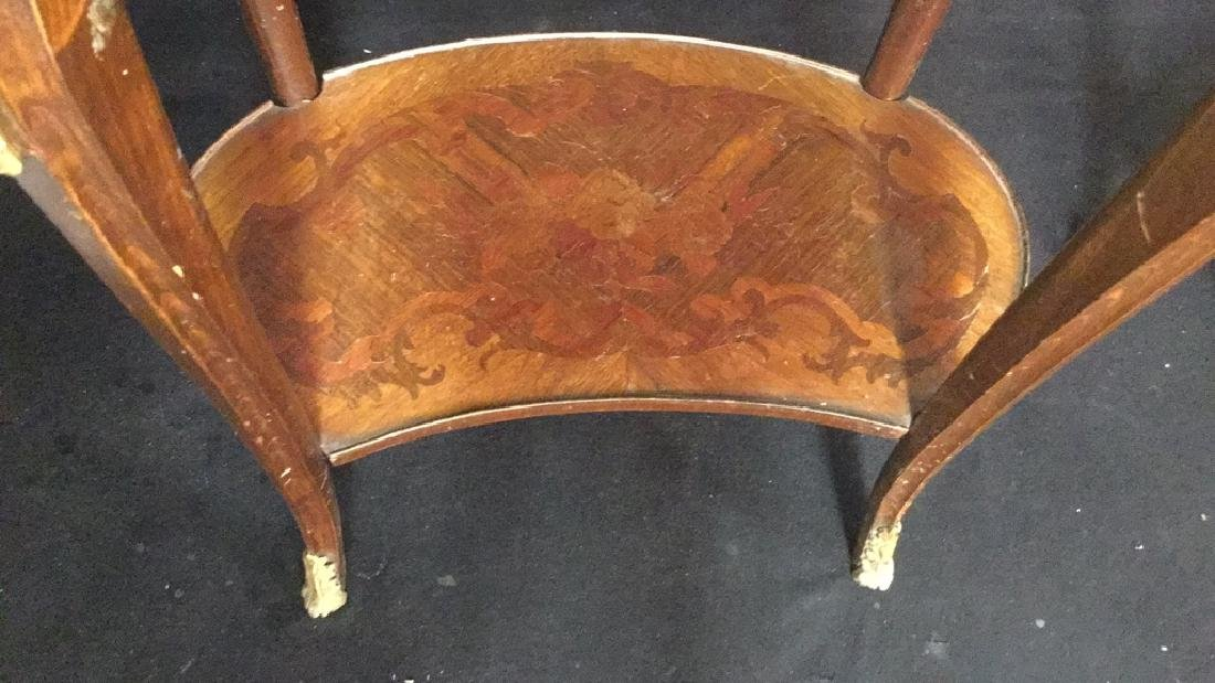 Pair Of French Louise XIV Style Occasional Tables - 6