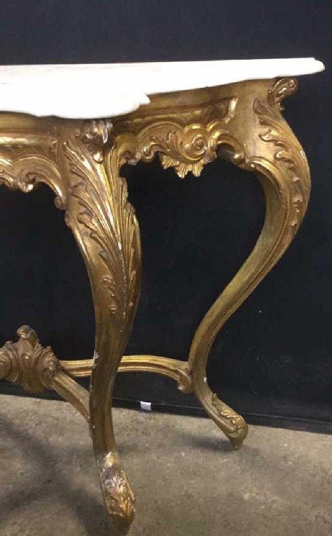 French Louis XV Style Console Table - 3