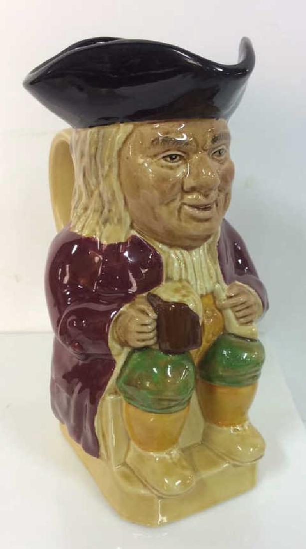 Wood & Sons Toby Jug Einglish Ceramic