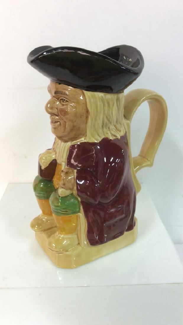 Wood & Sons Toby Jug Einglish Ceramic - 5
