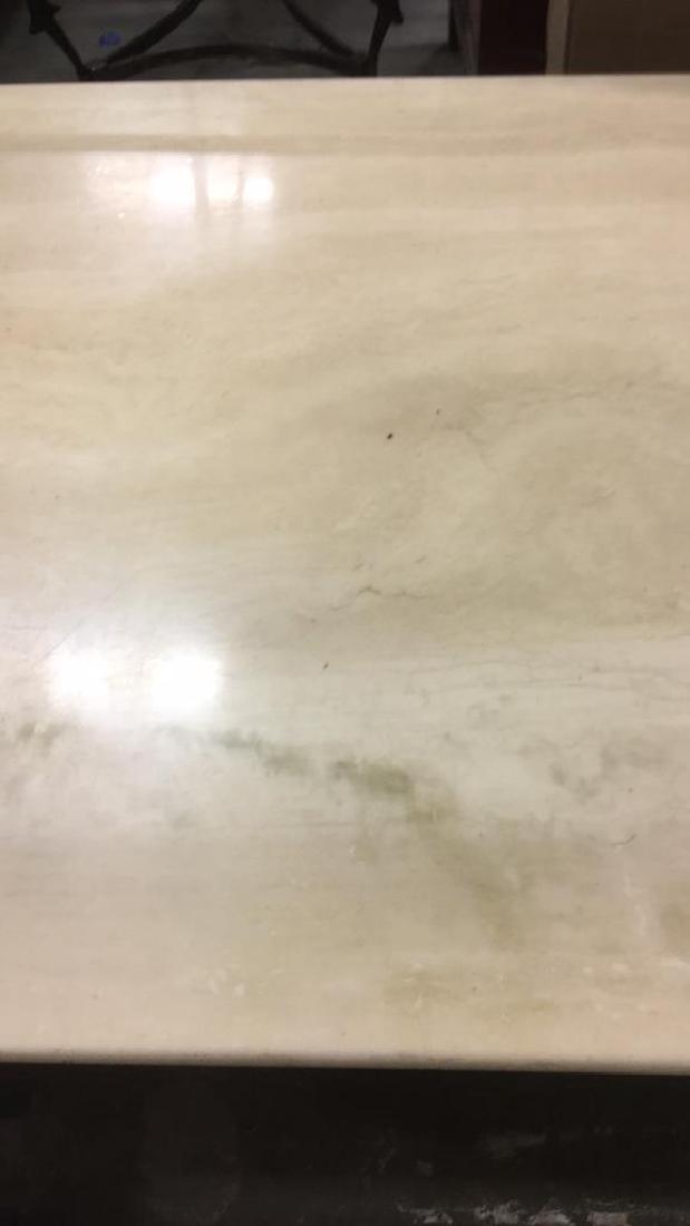 Low Stone Cream Toned Coffee Table - 10