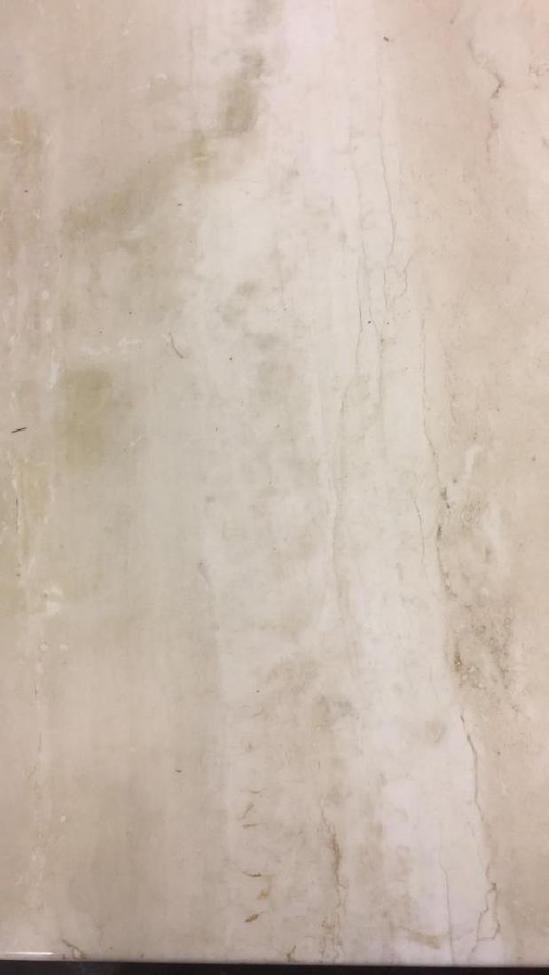 Low Stone Cream Toned Coffee Table - 6