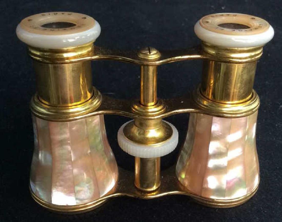 Lemaire Paris Pearl Brass Opera Glasses - 5