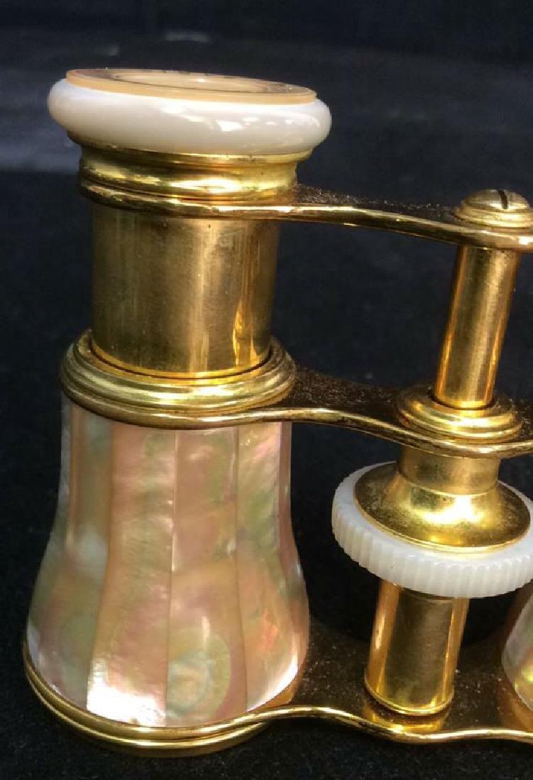 Lemaire Paris Pearl Brass Opera Glasses - 8