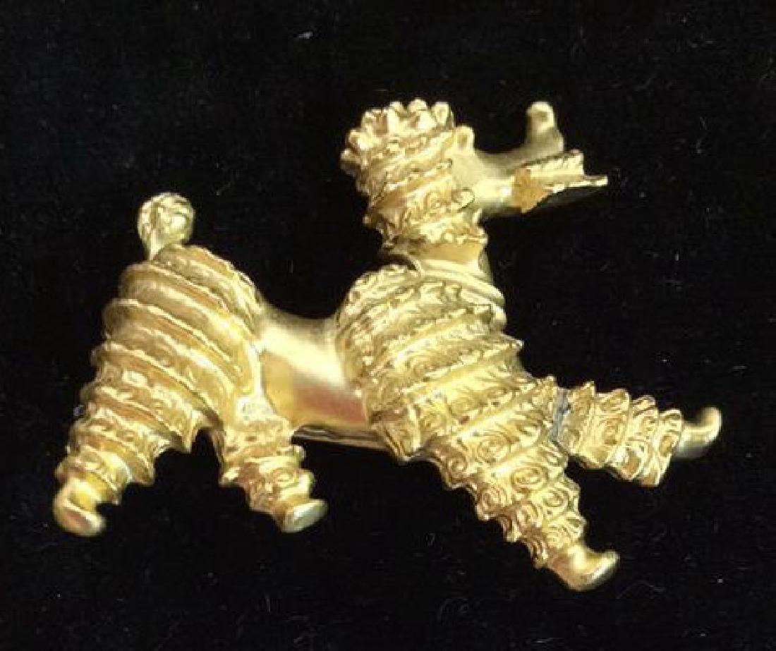 Lot 6 Assorted Animal Brooch Pins - 4