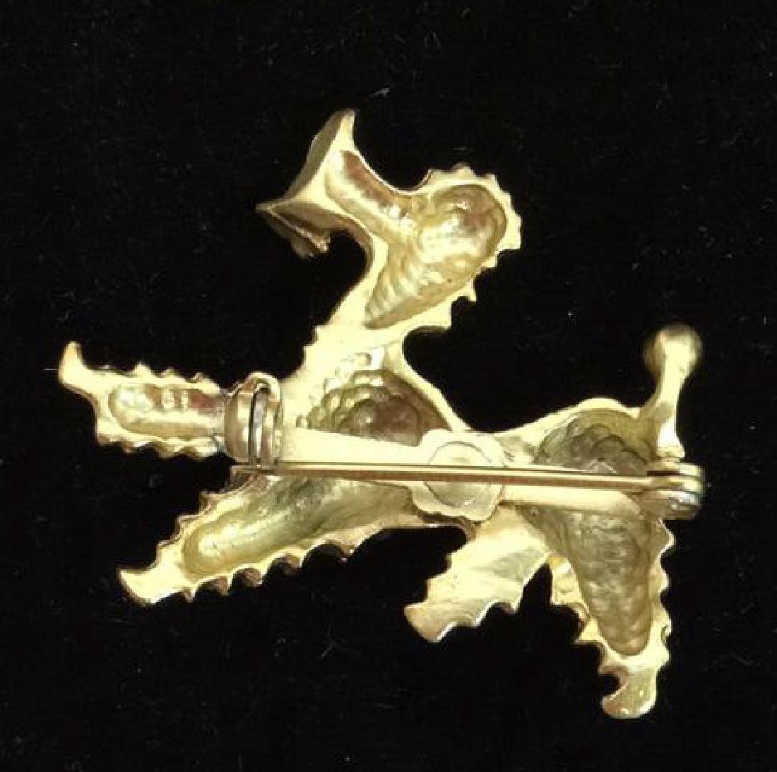 Lot 6 Assorted Animal Brooch Pins - 5