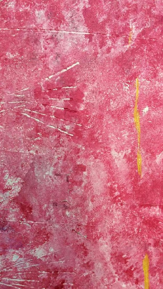 Pink Toned Fish Pop Art Textured Painting - 7