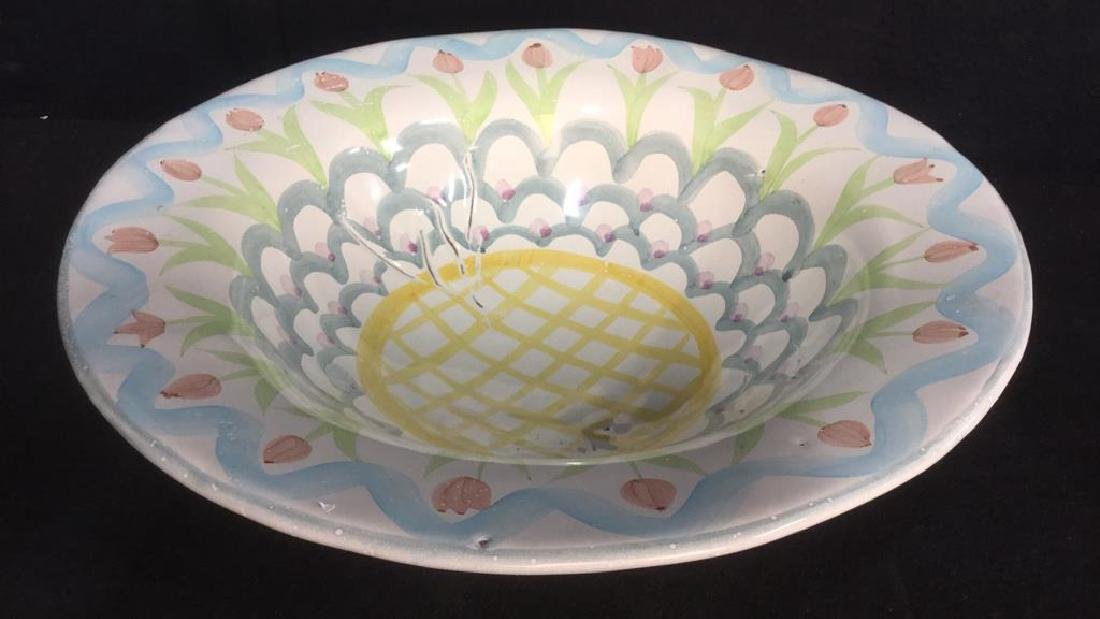 Handmade MACKENZIE CHILDS Bowl - 4