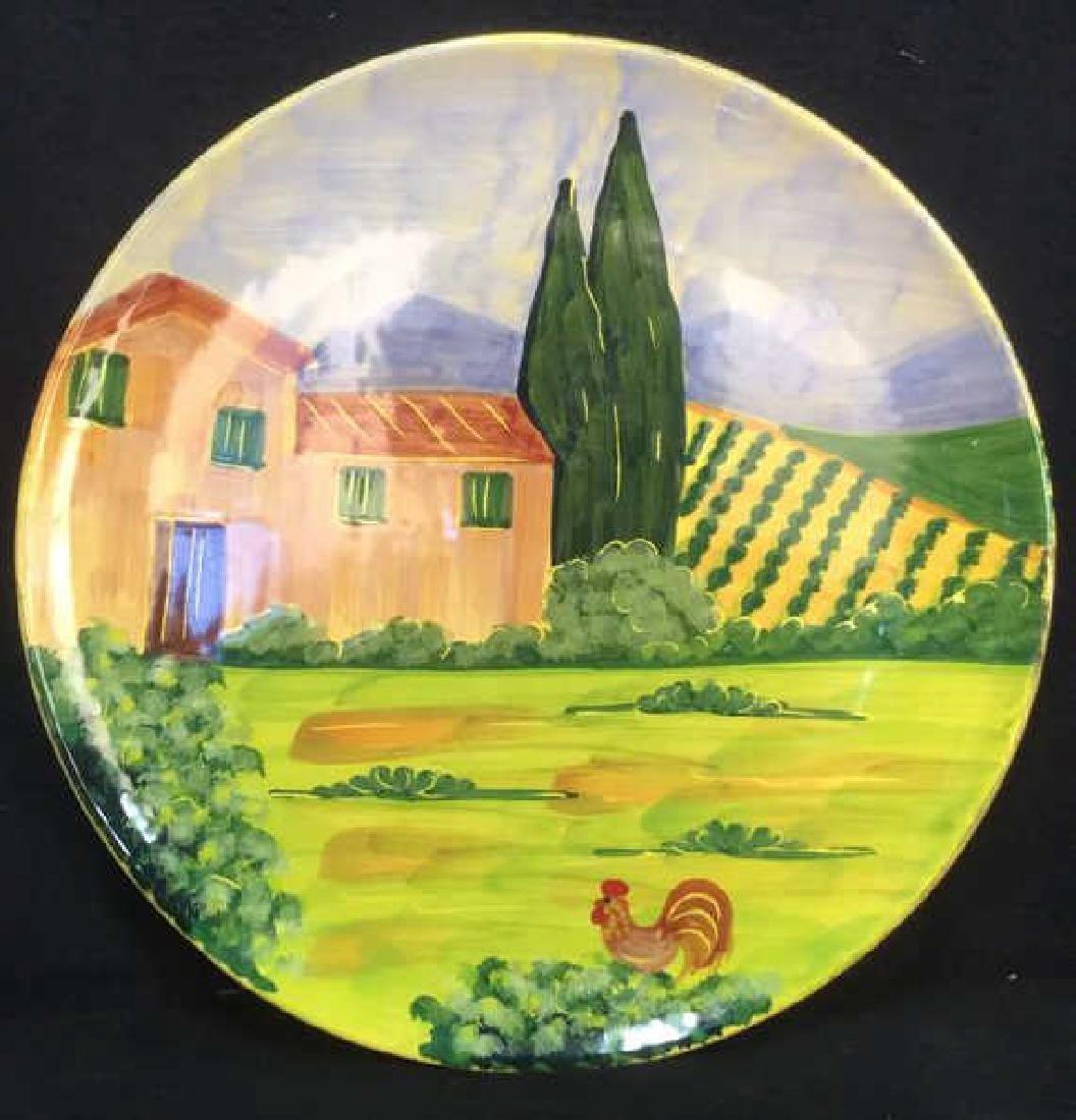 VIETRI Hand Painted Italian Decorative Plate