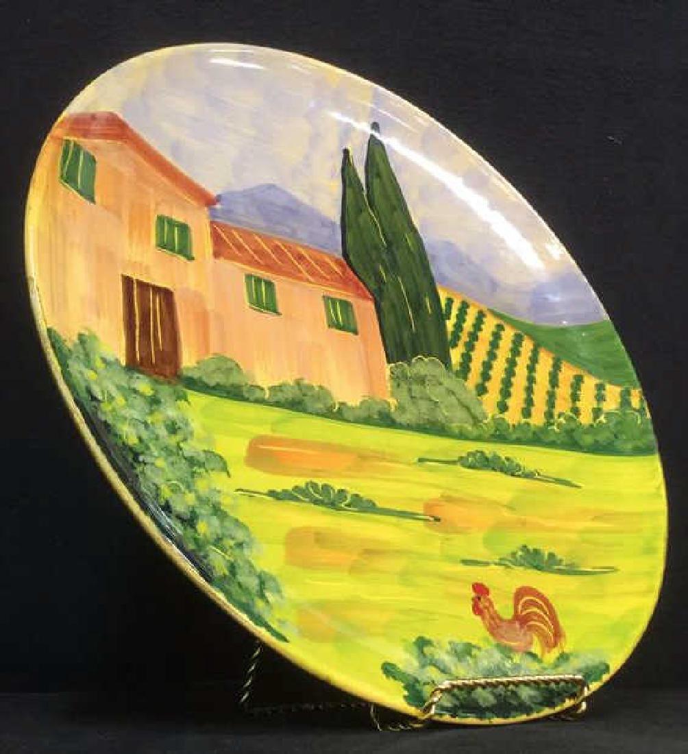 VIETRI Hand Painted Italian Decorative Plate - 3