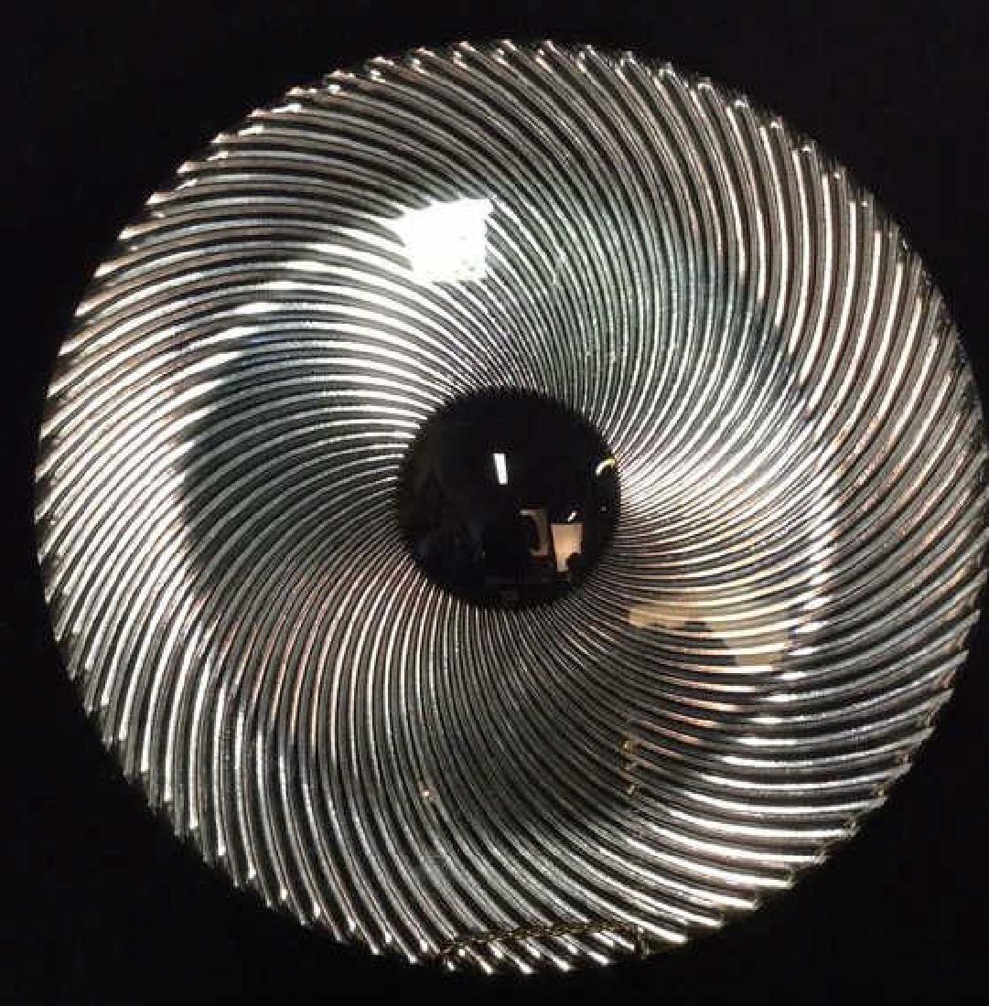 TIFFANY&Co  Crystal Swirl Platter