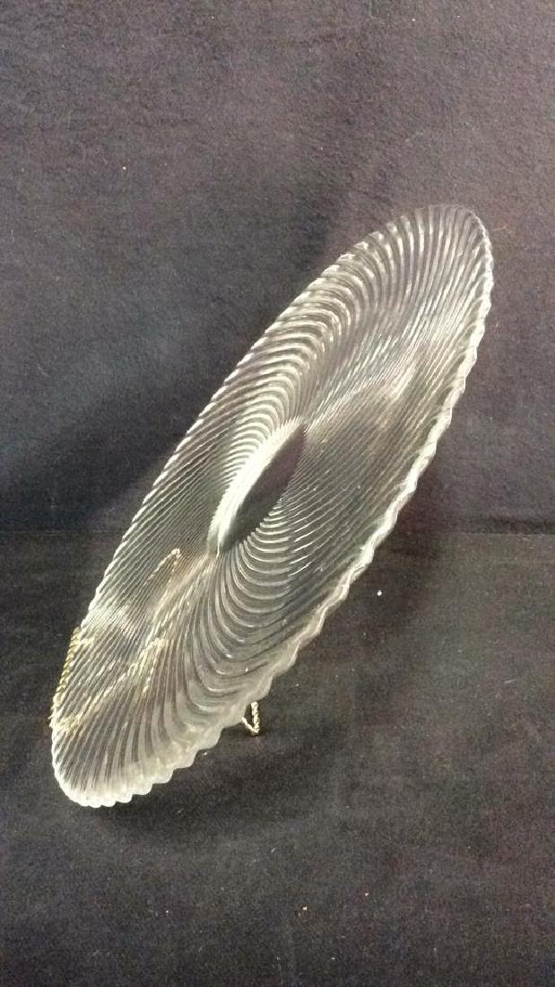 TIFFANY&Co  Crystal Swirl Platter - 5