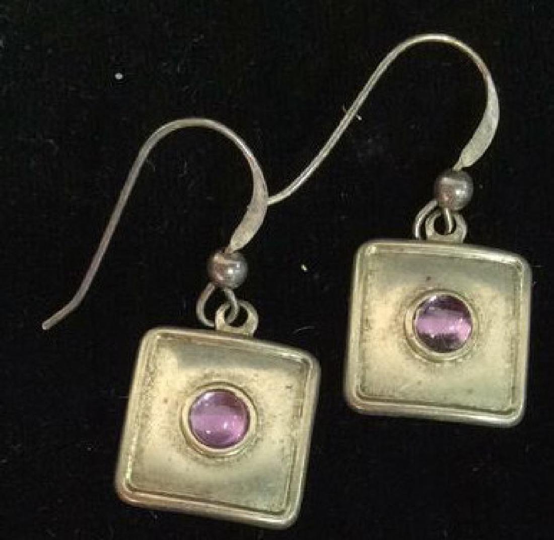 Sterling Silver Earrings Estate Jewelry