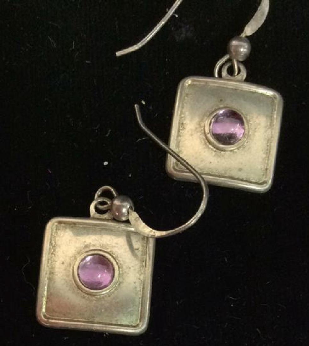 Sterling Silver Earrings Estate Jewelry - 2