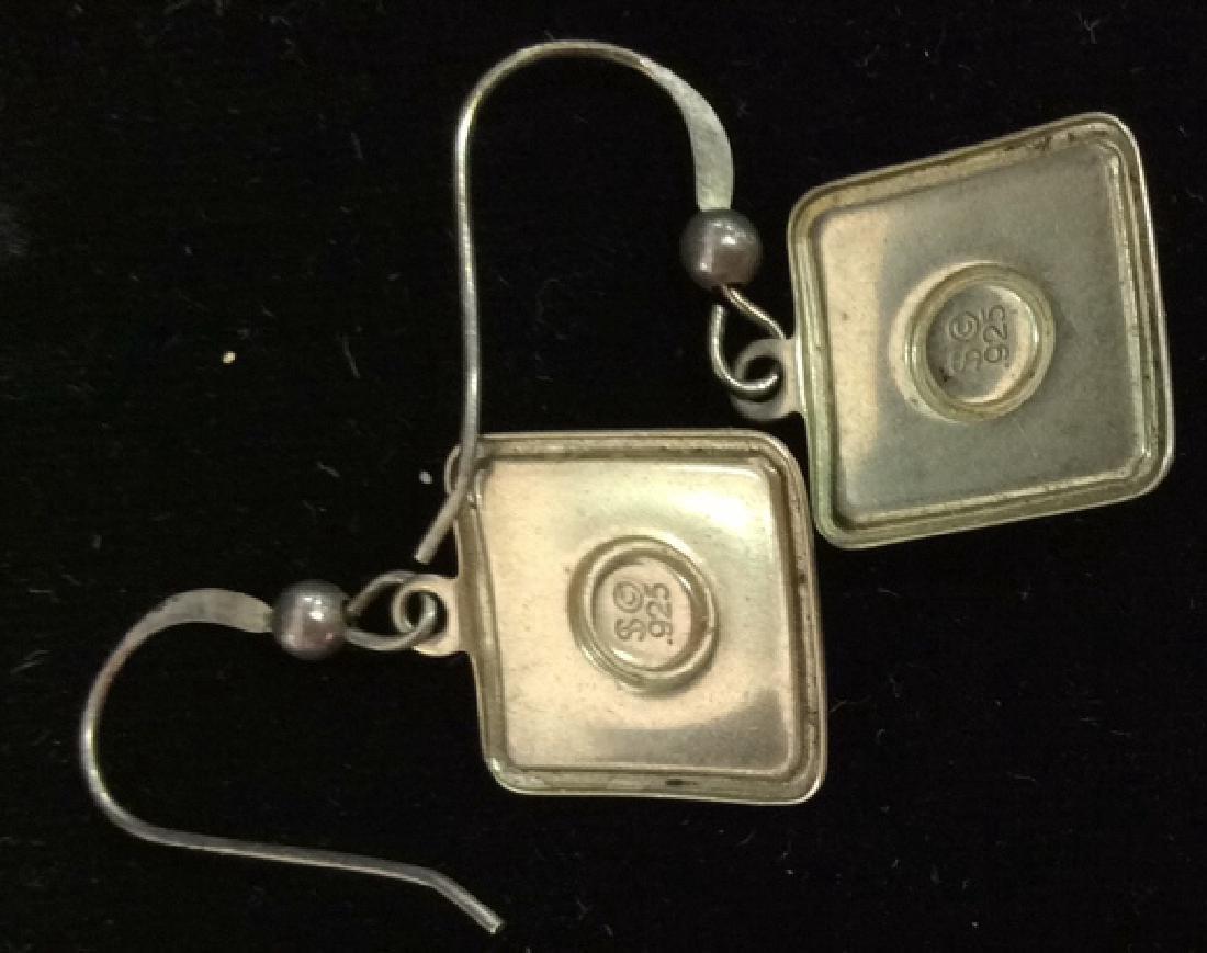 Sterling Silver Earrings Estate Jewelry - 4