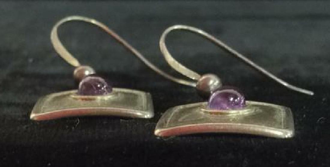 Sterling Silver Earrings Estate Jewelry - 5
