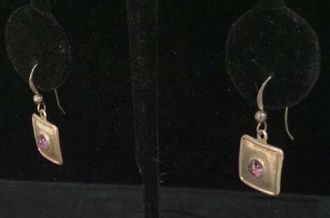 Sterling Silver Earrings Estate Jewelry - 6