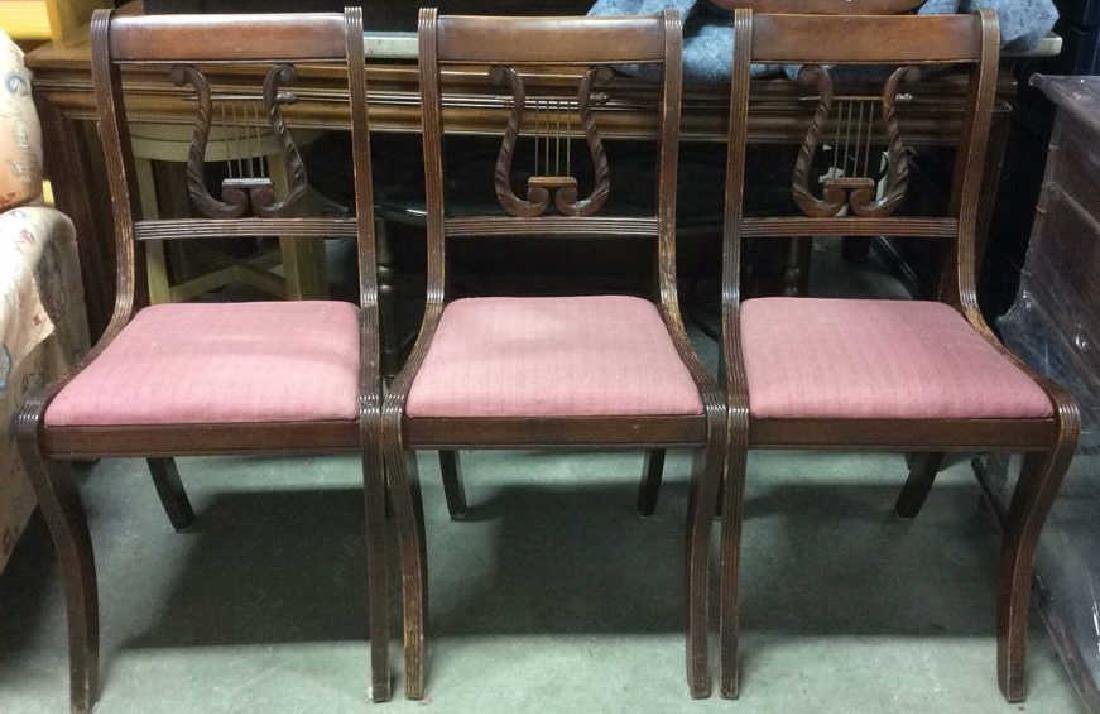 Lot 3 JOHN M. SMYTH Vintage Carved Side Chairs